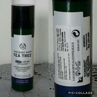 Body Shop - Tea Tree Night Solution