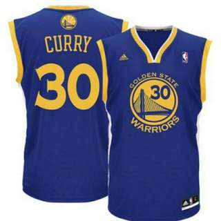 Stephen Curry Replica Road Jersey