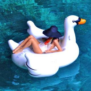 SWAN GIANT POOL FLOATER INFLATABLE