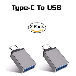 (包郵)(一包兩粒)Type-C to USB 3.0 Adapter for MacBook Pro, Google Pixel, Nexus 6P 5X, LG G5, HTC 10, and More