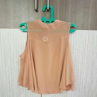 Butterfly Top Brown