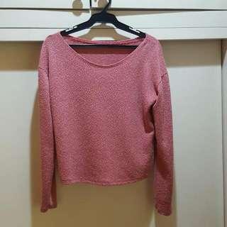Pink Longsleeved Top