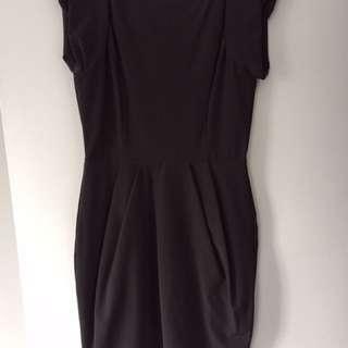 Sheike Grey Dress Size 12