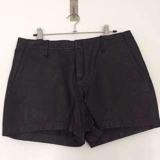 Witchery Leather Shorts Size 12