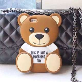 Moschino Teddy Bear Phone Cover For iPhone And Samsung