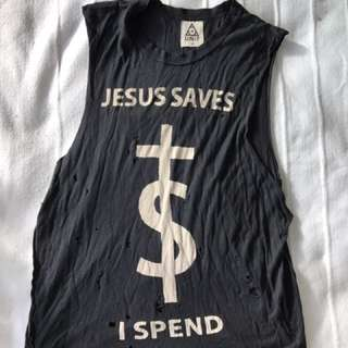 Unif Jesus Saves Singlet