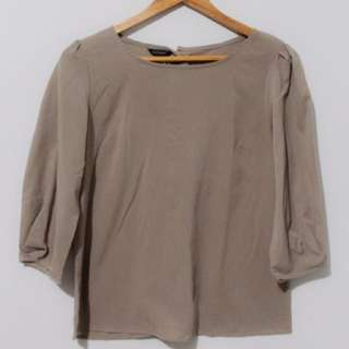 The Executive Choco Blouse
