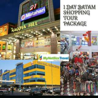 1 Day Batam Shopping Tour Package