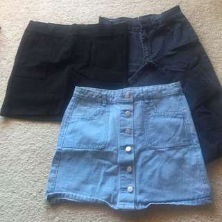 Skirt And Jeans Bundle