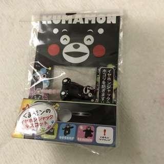 熊本熊 手提電話 防塵塞 日本限定