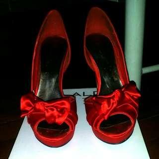 FLASH SALE!! Preloved Aldo Suede High Heels Size