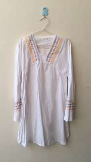 White Tunik Blouse