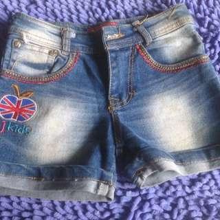 Celana Jeans Pendek JJ