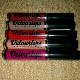 Australis Velourlips Bundle Matte Lipstick Cheap Makeup