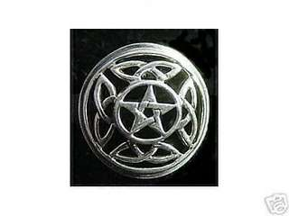 Silver PENTAGRAM Knot of Infinity CELTIC Ring Jewelry Choose your ring size