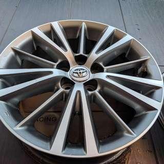 Toyota Altis Sports Rims