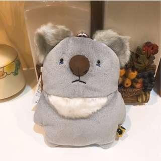 日本袋熊家族 無尾熊 票卡包 / 零錢包 / 吊飾 / 票卡夾