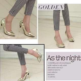 High Heels Gold Import