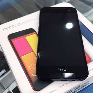HTC 蝴蝶2 藍 9新(電池剛換新)