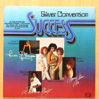 Silver Convention Success vinyl 黑膠