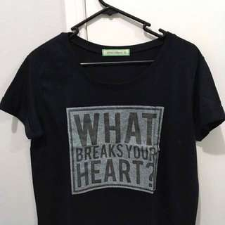 What Breaks Your Heart? Crop Top