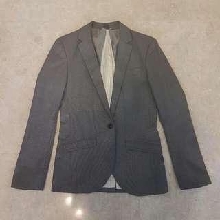 Armani Exchange Grey Blazer Jacket Suit