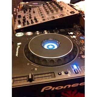 CDJ PIONEER 1000 MK2 & DJM 600