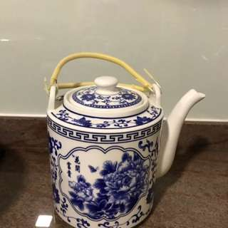 Porcelain Water Kettle