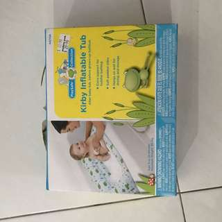 Inflatable Travel Tub For Infant