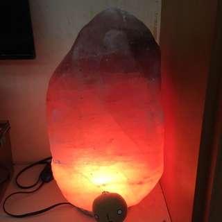 玫瑰鹽燈 岩鹽 喜馬拉雅山鹽礦 40公斤