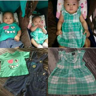 Baby Dress Overall T Shirt