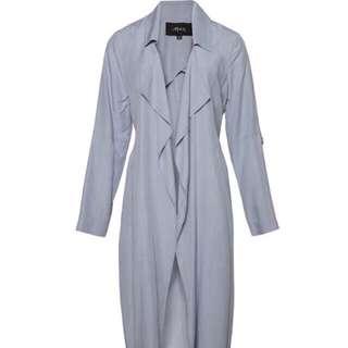Blue Long Jacket Max fashion