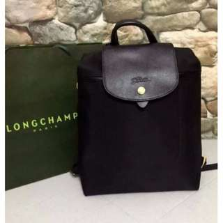 Longchamp Neo Black Backpack (New and On Hand)
