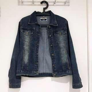 Dark Wash Comfy Denim Jacket