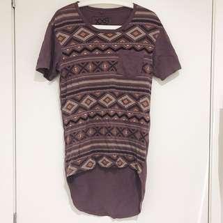 JAY JAYS Purple Aztec Tshirt