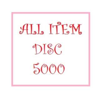 Discount 5000 All Item
