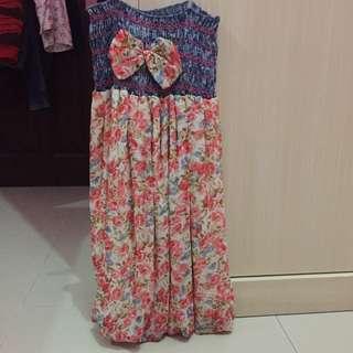 Dress Floral HK Size S