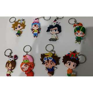 Digimon keychains