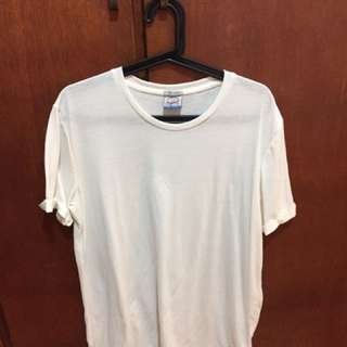 Jack And jones Large White Tee