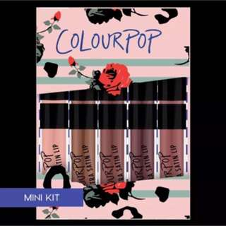 Colour pop On A Whim Lip Collections