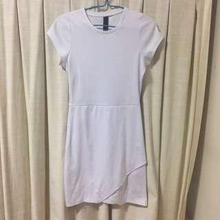 White Factorie Wrap Dress