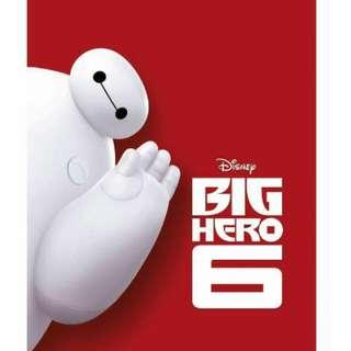 Disney BIG HERO 6 公仔(全新,26cm高)