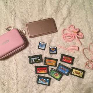 Nintendo DS Lite In Chrome Pink