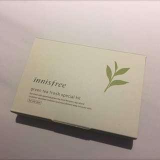 Innisfree Green Tea Fresh Special Kit