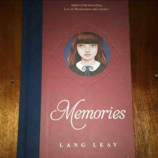 Memories by: Lang Leav