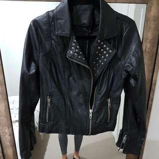 Women's Studded Biker Jacket