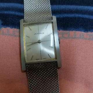 Juvenia Slimatic Mens Swiss Dress Watch Like Audemars Or Cartier