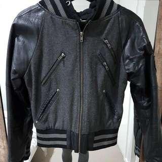 All About Eve Varsity Style Bomber Jacket