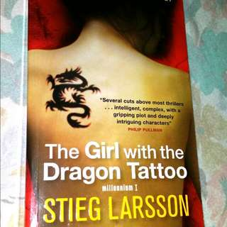 A Girl With A Dragon Tattoo (best selling swedish Novel)