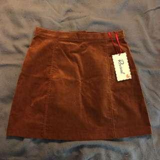 Revival Corduroy Miniskirt